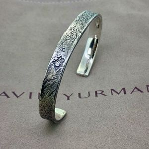 David Yurman Shipwreck Cuff, 8mm
